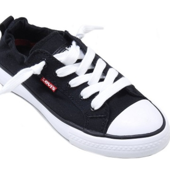ee44e29145e267 Levi s Ladies Stan G Denim Canvas Sneakers